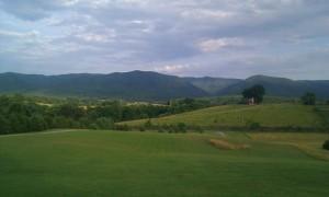 Beautiful View looking East towards Buena Vista, VA