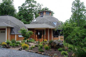 Lexington, VA Real Estate  Geodesic Dome with Mountain Views