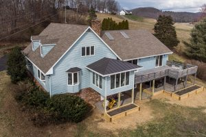 Home for Sale with Blue Ridge Mountain Views